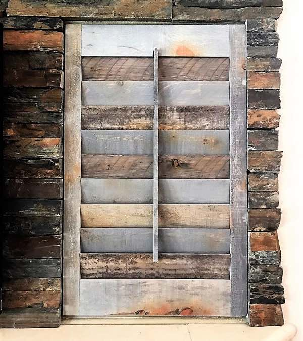 Charlotte Recycled Wood Shutter