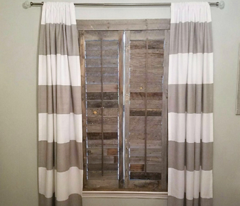 Reclaimed Wood Shutters Product In Charlotte