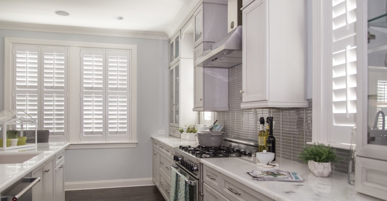 Charlotte kitchen white shutters