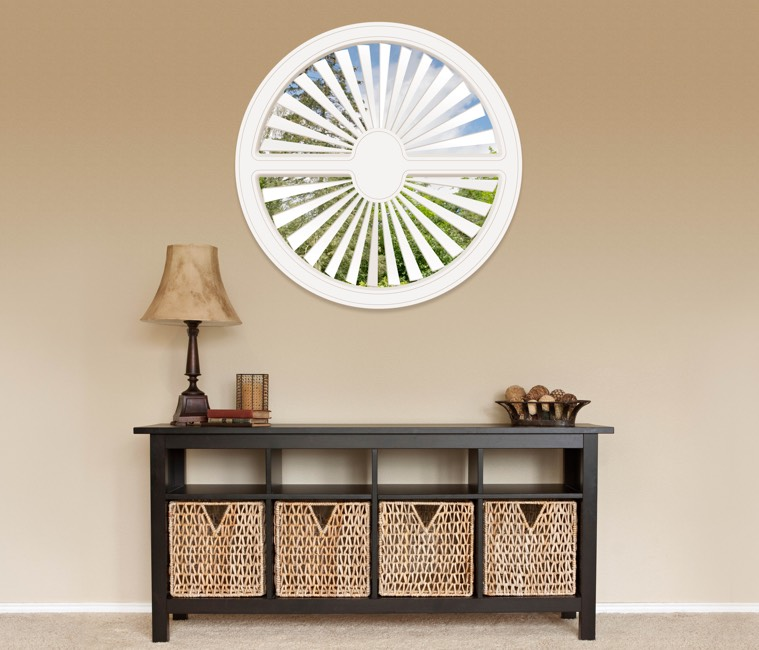 Circular Shutters in Charlotte, NC