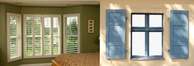 Charlotte NC interior and exterior shutters