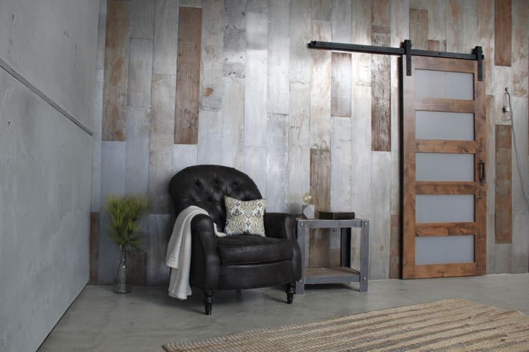 Charlotte commercial barn door