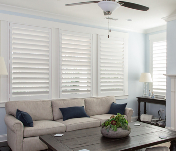 Shutters in Charlotte give you light control