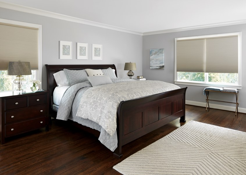 Charlotte blackout shades bedroom
