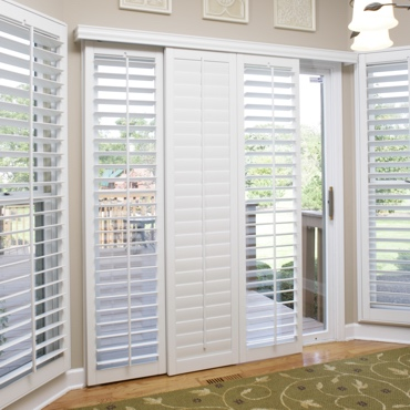 Charlotte Sliding Patio Door Shutters
