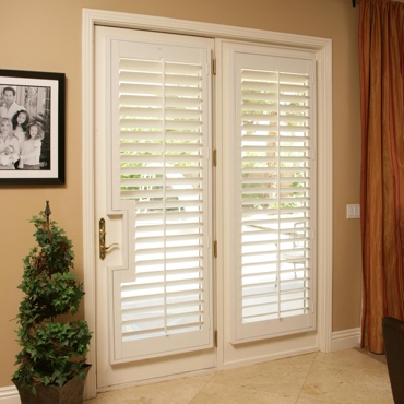 Patio French Door Shutters Charlotte