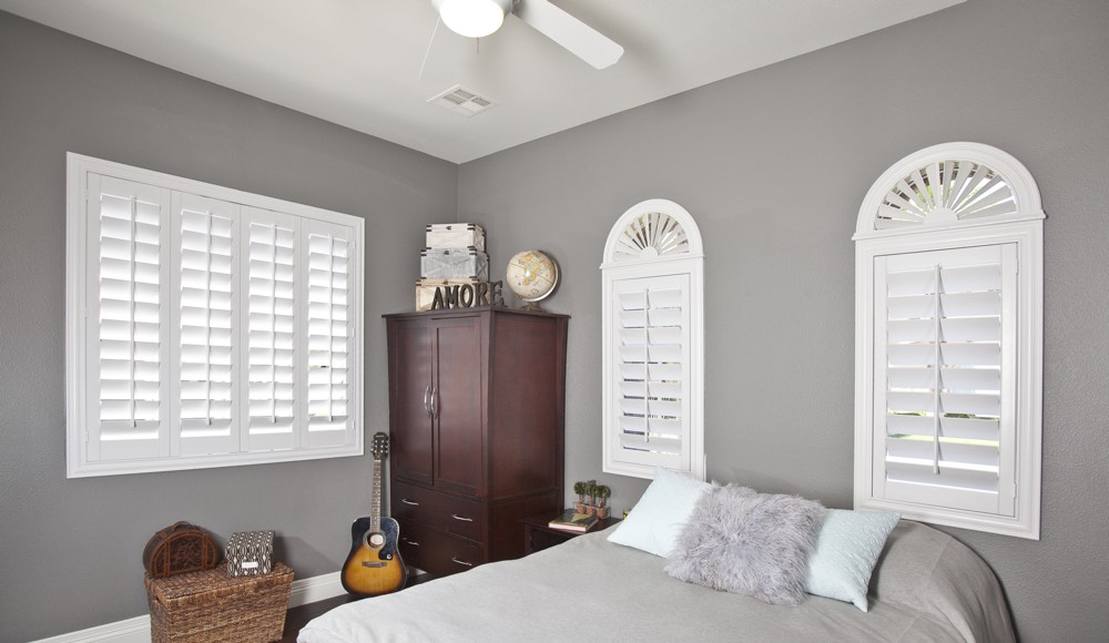 Polywood Shutters In A Charlotte Bedroom