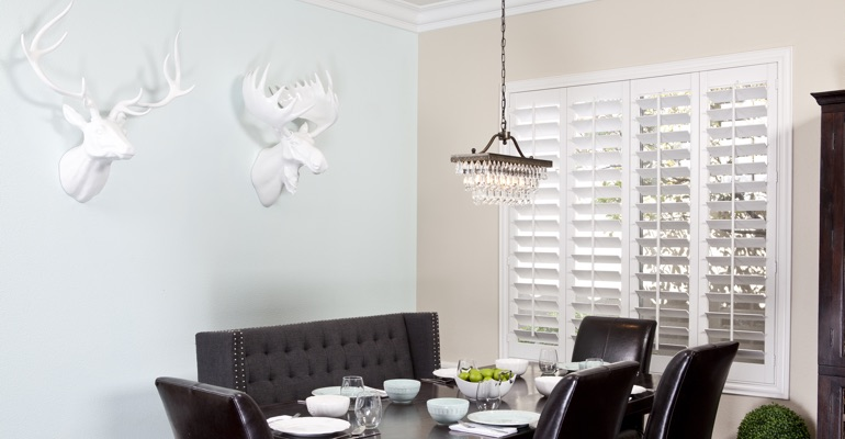 Charlotte dining room shutters
