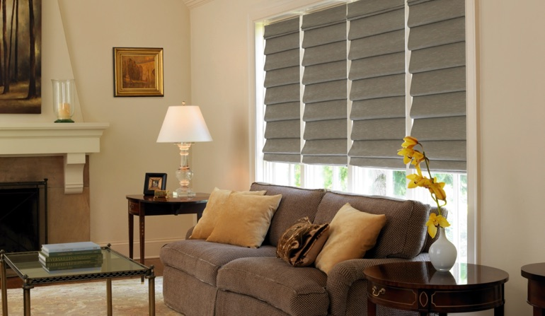 Roman Shades In Charlotte, NC