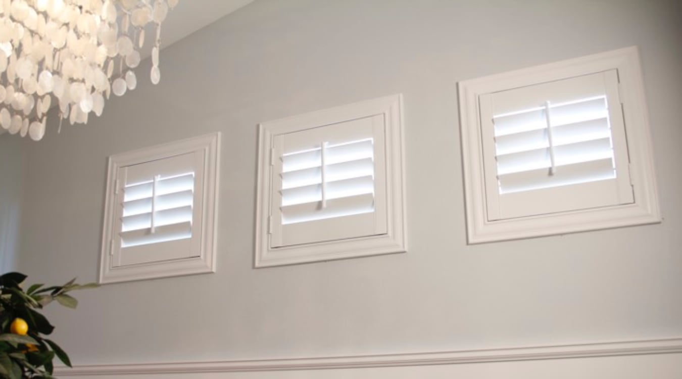 Charlotte casement window shutters