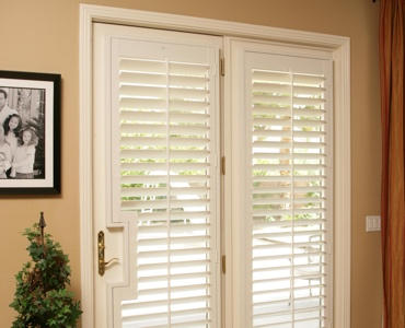 Charlotte french door shutters