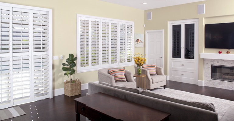 Cleaning Polywood shutters in Charlotte is simple