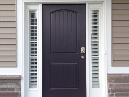 Charlotte Front Door Shutters