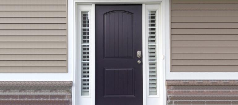 Front Door Sidelight Shutters In Charlotte Sunburst Shutters